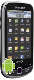 Sprint Samsung Intercept Gray