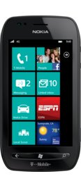 T-Mobile Nokia Lumia 710 Black