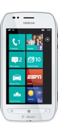 T-Mobile Nokia Lumia 710 White