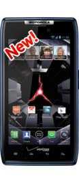 Verizon DROID RAZR Blue -