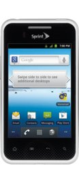 Sprint LG Optimus Elite - White