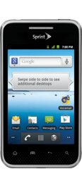 Sprint LG Optimus Elite - Black