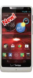 Verizon DROID RAZR M White 4G