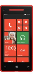 Verizon Windows Phone 8X Red