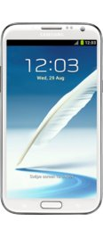 Verizon Galaxy Note II White