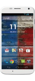 Verizon Moto X White