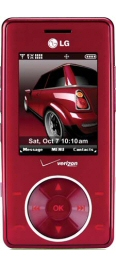 Verizon LG Chocolate Red