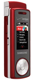 Verizon Samsung Juke U470 Red